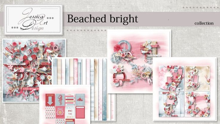 Beached bright collection by Jessica art-design