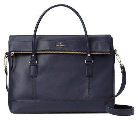 Kate Spade Brighton Park Pebble Leslie Oceanic Blue Leather Weekend/Travel Bag. Save 48% on the Kate Spade Brighton Park Pebble Leslie Oceanic Blue Leather Weekend/Travel Bag! This travel bag is a top 10 member favorite on Tradesy. See how much you can save