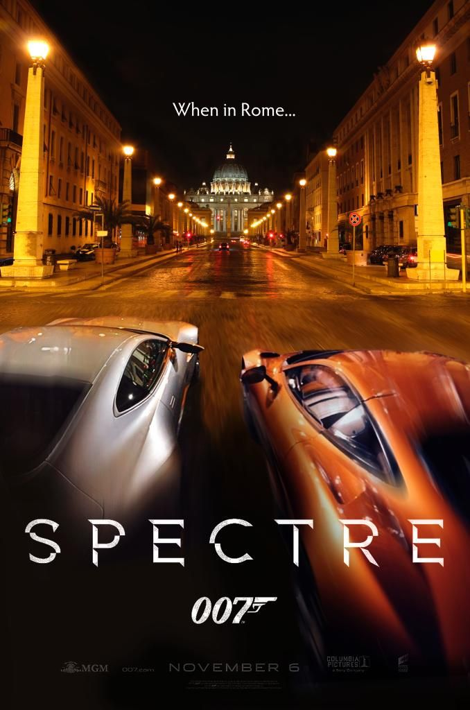 Newsest James Bond Film - Spectre (2015), https://www.youtube.com/watch?v=7GqClqvlObY also the supercar https://www.youtube.com/watch?v=5BhuxLVMj4U