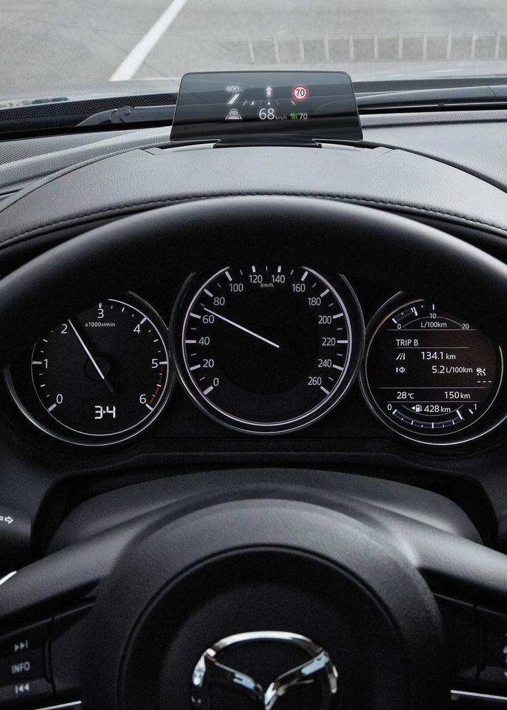 Mazda 6 Sedan 2017 cluster + HUD car Pinterest Mazda