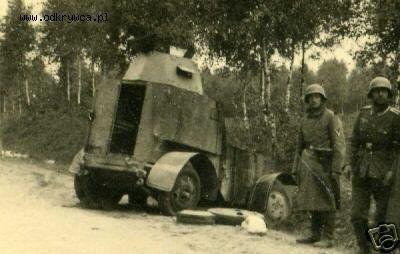 Polnischer Panzerwagen Zambrów: