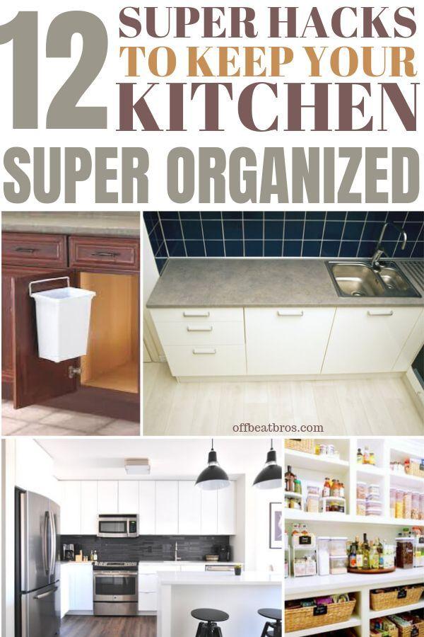 12 genius kitchen organization ideas for an organized kitchen rh pinterest com