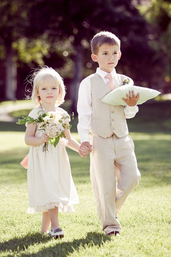 Ring bearer ideas Photo via Project Wedding
