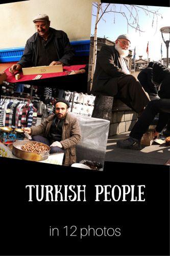 Turkish people in 12 photos