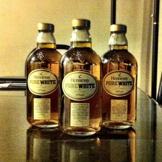 Hennessy Pure White!