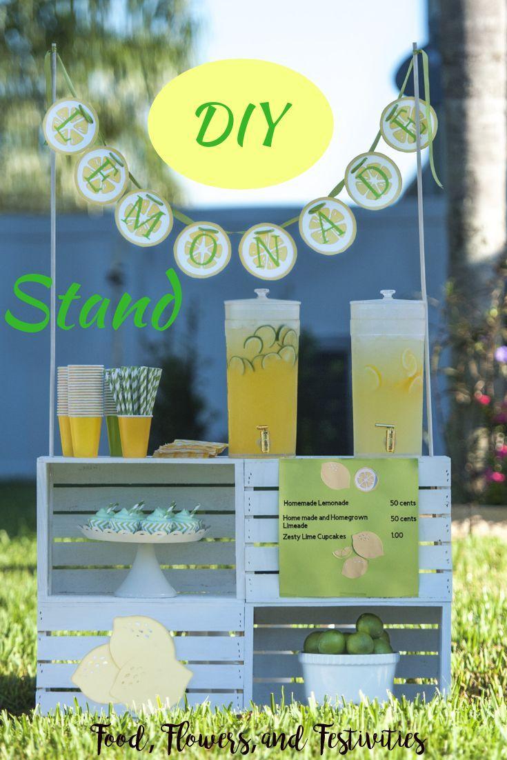 Diy Lemonade Stand For Your Kids Diy Lemonade Stand Diy Lemonade Lemonade Stand