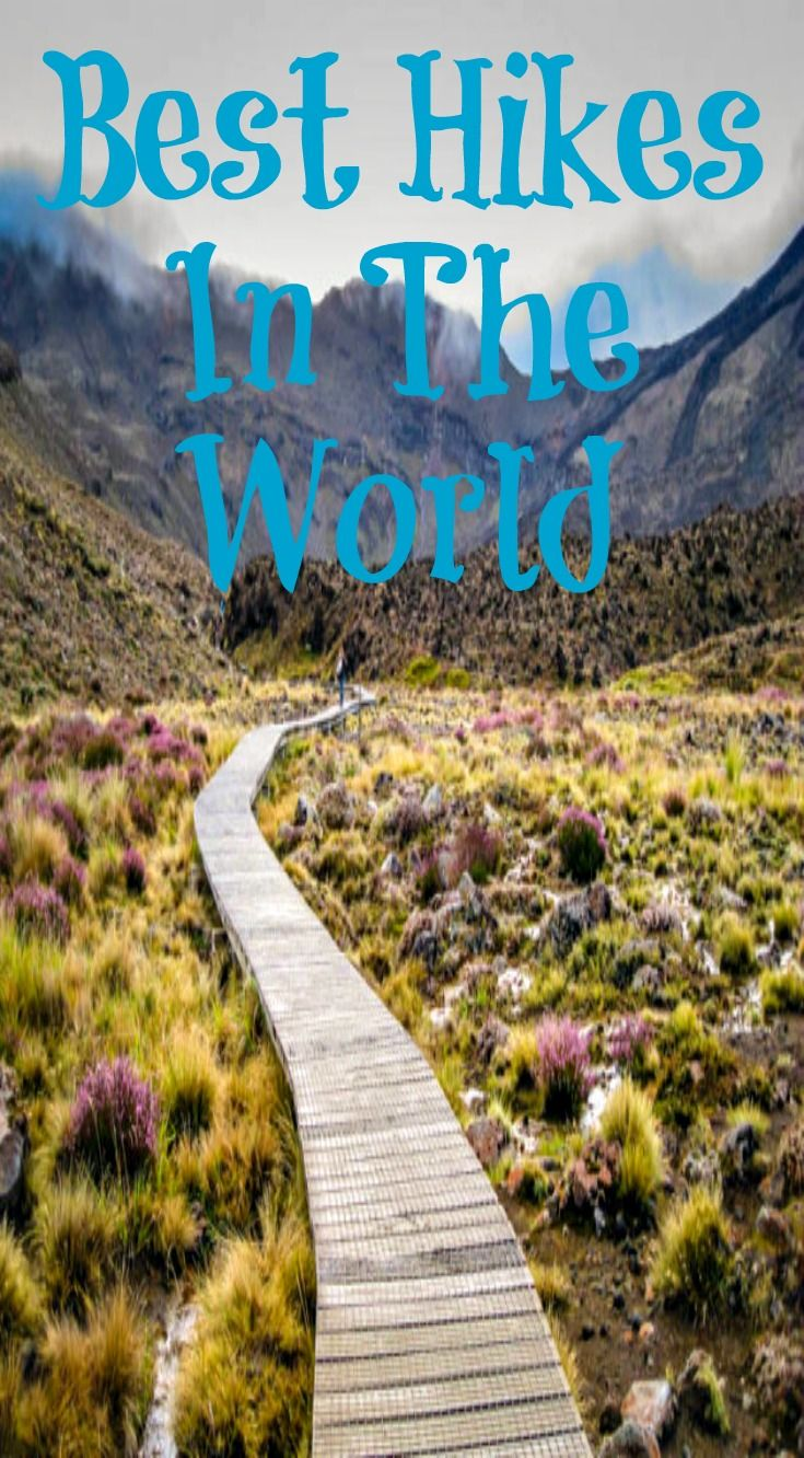 Best Hikes in the World To Put On Your Bucket List! From Climbing Carrauntoohill, Ireland's Tallest Peak. Hiking to Mount Everest base camp in Tibet. Hiking the Rice Terraces in Guilin China. Hiking the Great Wall of China. The Tongariro Crossing in the Best Hike in New Zealand. See the best hikes in the world at http://www.divergenttravelers.com/category/adventure-travel/land/