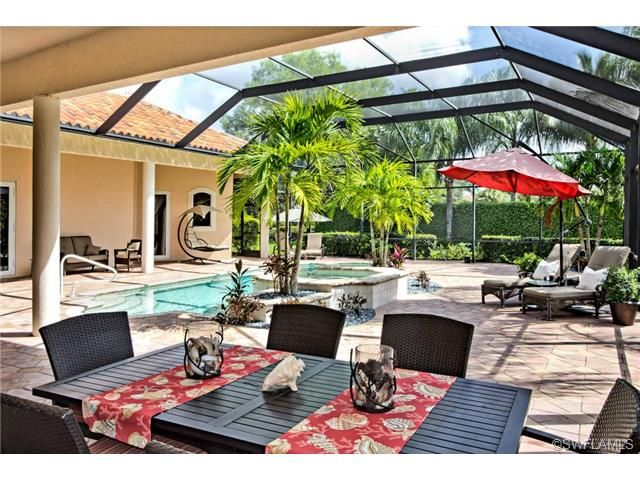 18 best pool lanai images on pinterest naples florida for Florida house plans with lanai