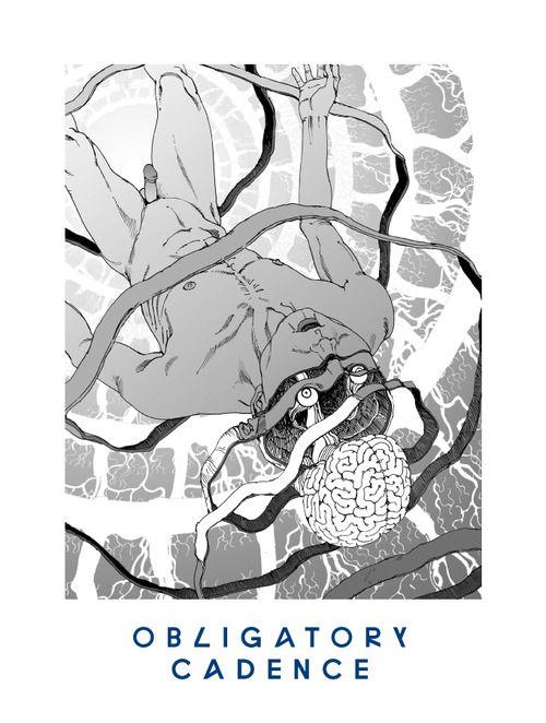 17 OBLIGATORY CADENCE 'You're Dead!' Flying Lotus artwork by Shintaro Kago