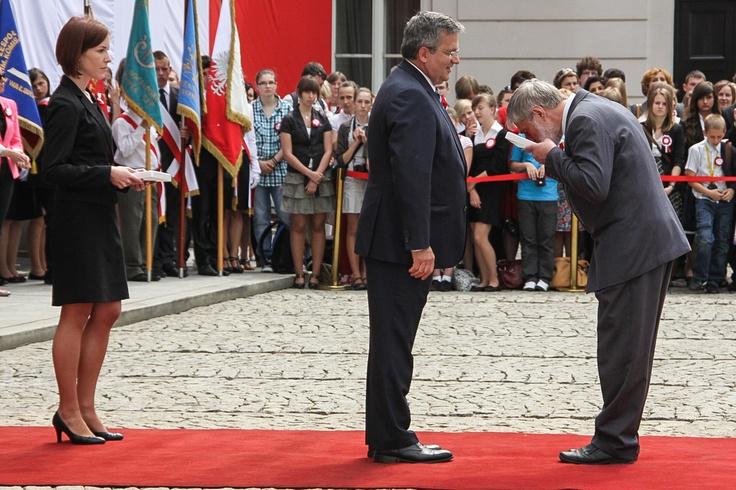 At the President Palace - 2 May 2012