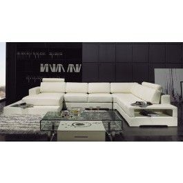 YIL T63 Leather Sectional Sofa - 2650.0000