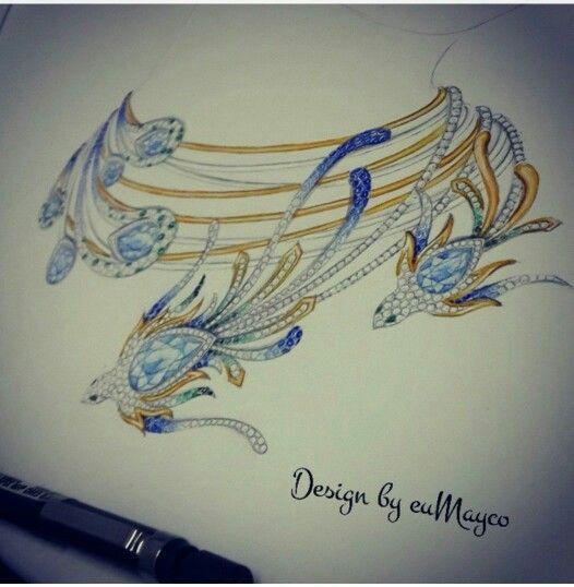 eu Mayco. necklace sketch...♡