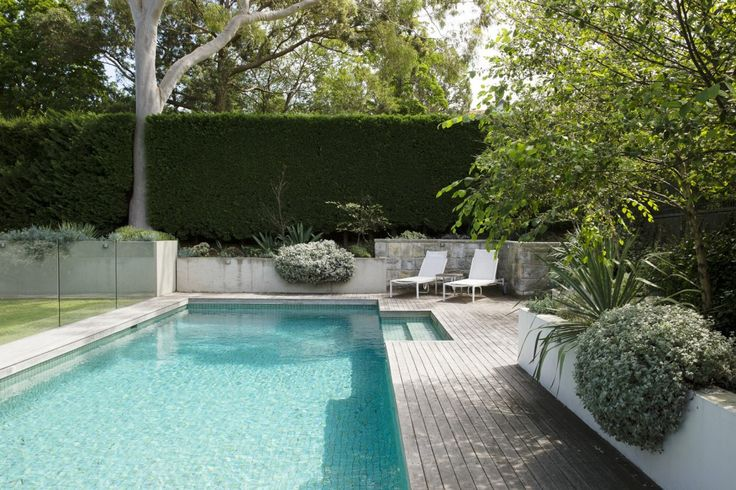 Love the combination of white, green, gray and touch of aqua. Nice poolside floors