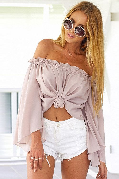* Material: Polyester * Color: White, Light Pink * US Size: S,M,L * Machine Wash * Do not bleach