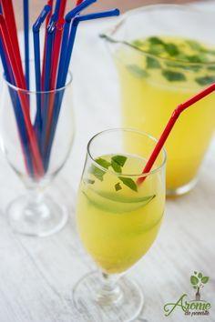 Limonada cu ghimbir si turmeric