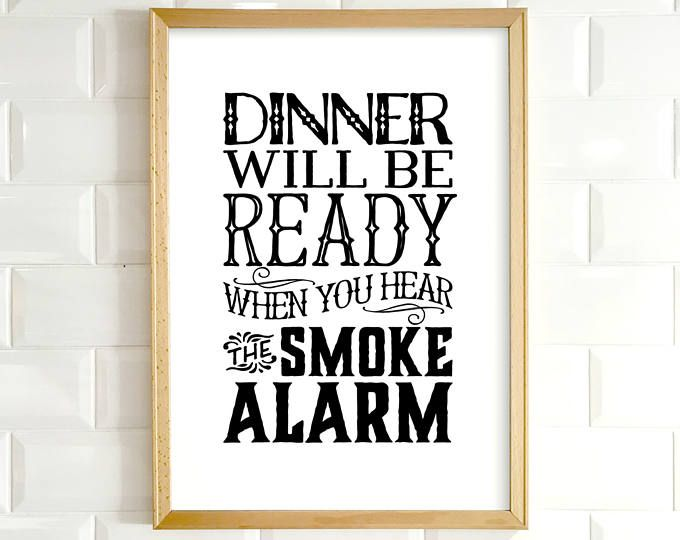 Kitchen Wall Art Printable Art Funny Kitchen Art Kitchen Etsy Kitchen Wall Art Kitchen Humor Kitchen Quotes Funny