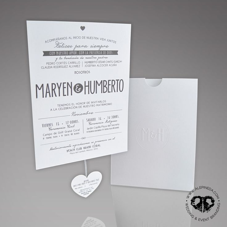 diamond wedding invitations%0A Contempo beach wedding invitation  Pocket sleeve envelope  heart shaped  RSVP card