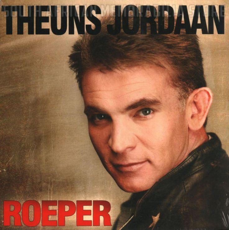 THEUNS JORDAAN - Roeper - South African Vinyl Record LPTJP003 *New*