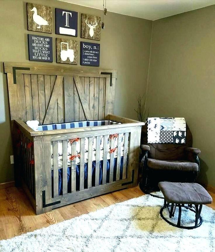 10 Baby Boy Room Ideas That Will Bring Convenience For Your Baby In 2020 Rustic Baby Rooms Rustic Baby Boy Nursery Wooden Baby Crib