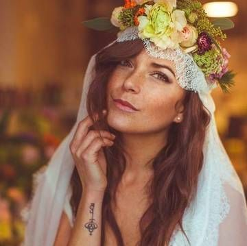 Tattoos are awesome and these 17 brides prove their tattoos can be badass and elegant too. Check out these stunning girls on their big days and their tattoos that complete the ensemble. You'll be planning your wedding, or at least a new tattoo, after seeing this.