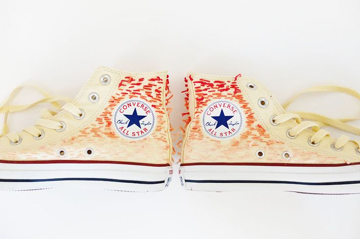 HAPPY FRENCH GANG x CONVERSE = OMBRE   TEXTURE