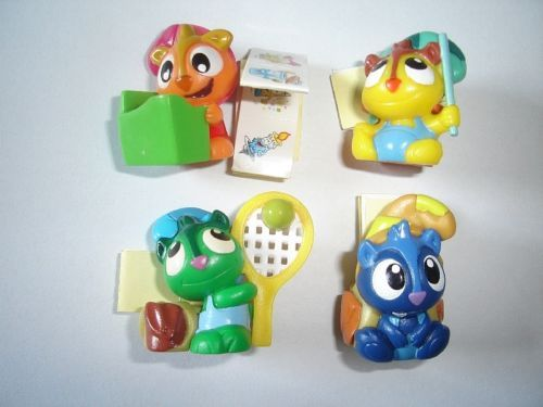 KINDER-SURPRISE-SET-CUTE-FANTASY-DREAM-BEARS-2009-FIGURES-TOYS-COLLECTIBLES