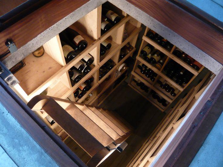 Les 25 meilleures id es de la cat gorie cave enterr e sur pinterest - Grot vin enterree ...