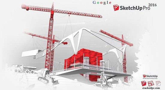 Google SketchUp Pro 2016 Crack Patch For Windows & Mac