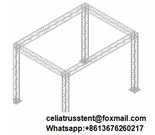 15 Feet By 10 Feet Truss Booth Design Booth Design Lighting Truss Design