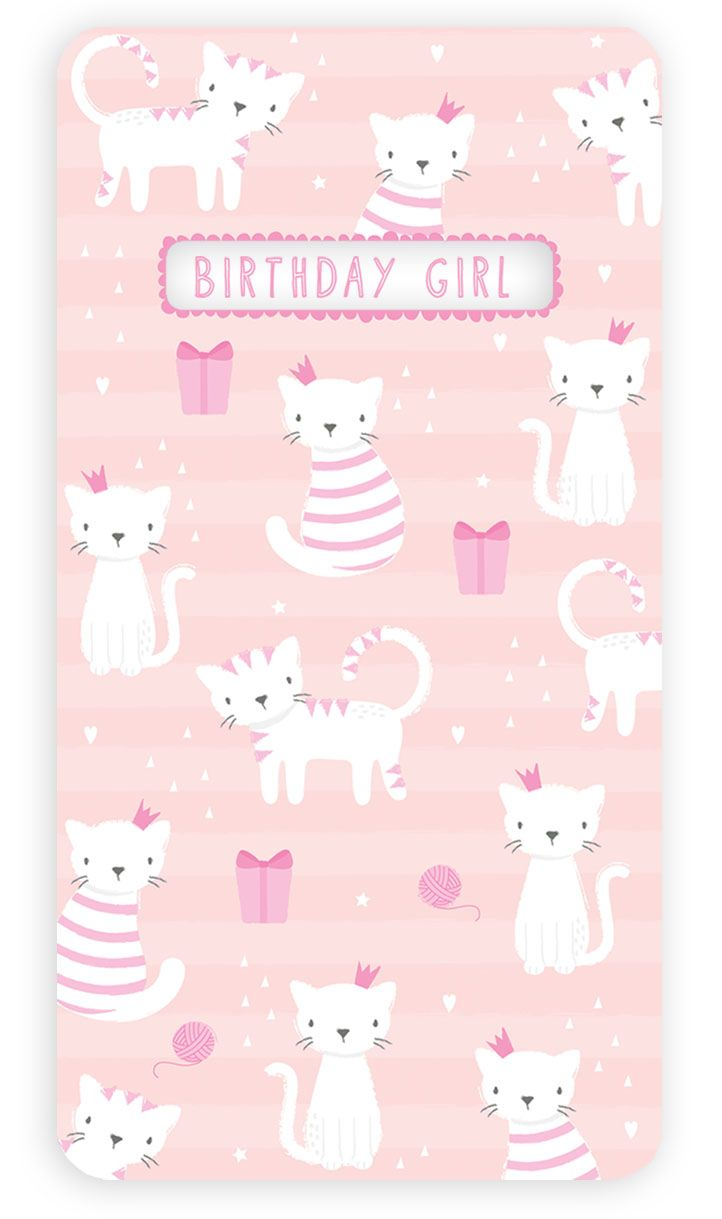 Kitties Greetings Card Design By Claire Nicholson Card Design Birthday Card Design Graphic Design Illustration