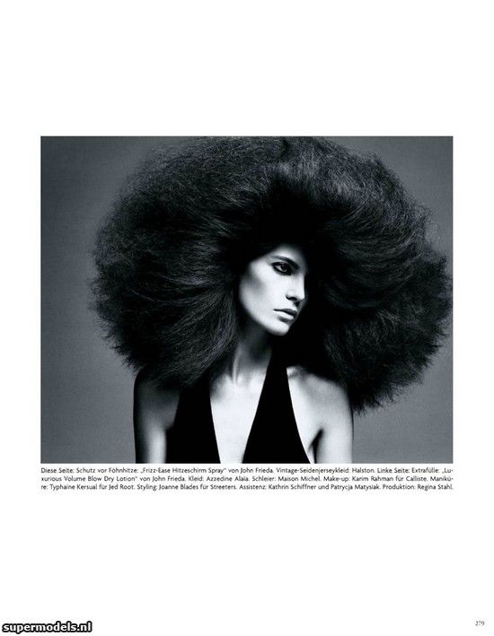 Iris Strubegger in 'Hairy Tales' - Photographed by Daniele + Iango (Vogue Deutsch April 2012)