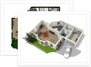 Create floorplans the easy way With Floorplanner you can recreate your home, garden or office in just a few clicks and furnish your plans with our huge library of objects. GREAT for designing your container home!