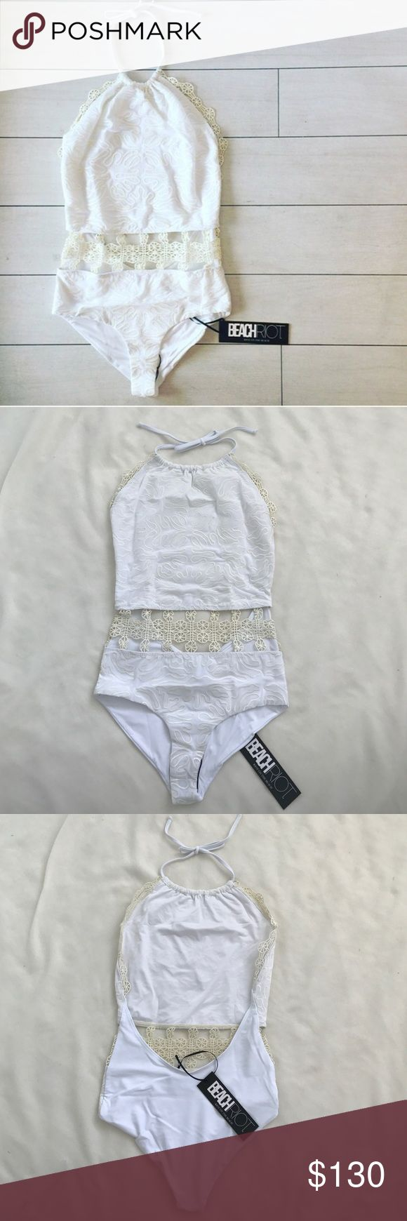Brand new Beach riot swimsuit New with tags For Love and Lemons Swim One Pieces