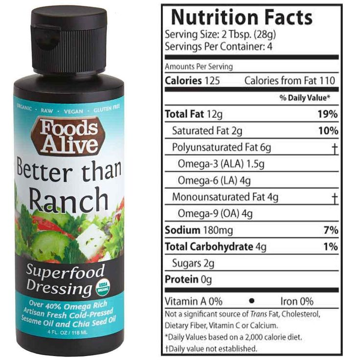 Better Than Ranch Organic Superfood Dressing