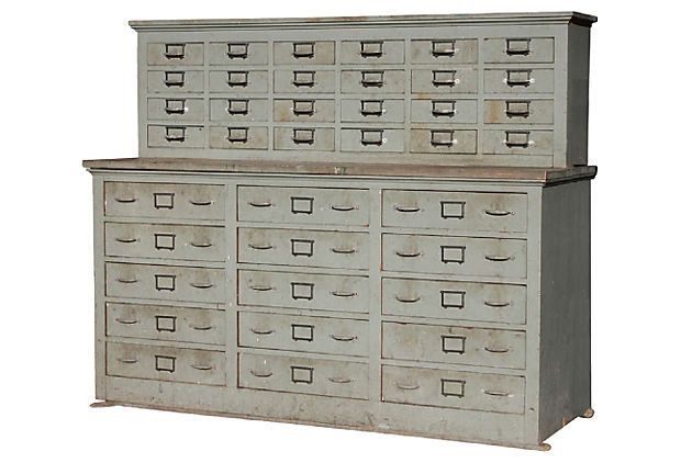 Industrial Filing Cabinet on OneKingsLane.com this would make a cool dining room piece to store table linens, serving ware, etc.
