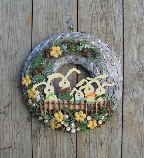 Locsoló vers - húsvéti ajtódísz Dekoráció, Otthon, lakberendezés, Húsvéti apróságok