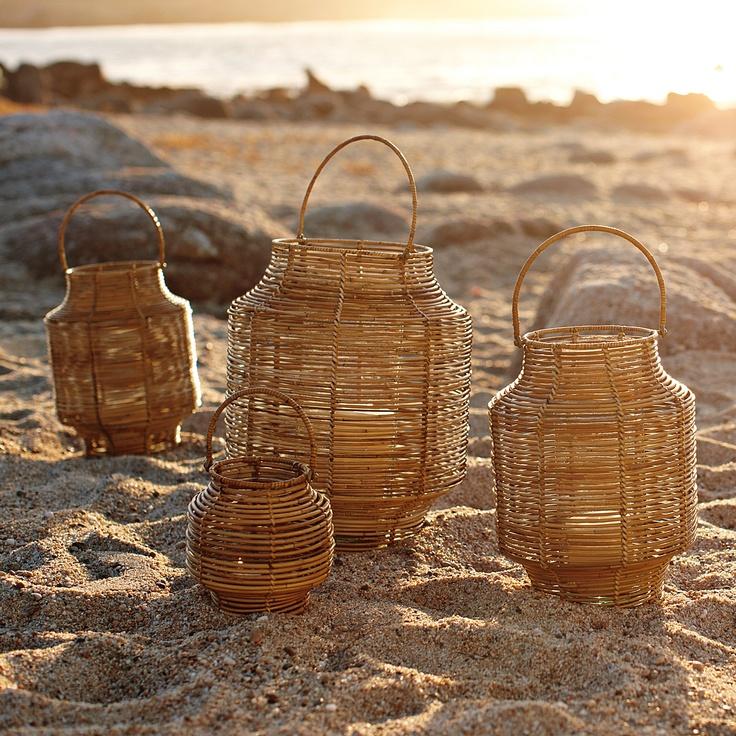 Woven Rattan Lanterns | Serena & Lily :}}