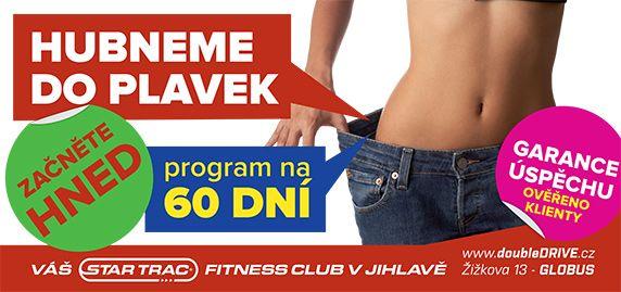 Fitness Jihlava - doubleDRIVE club - váš Star Trac fitness klub v Jihlavě