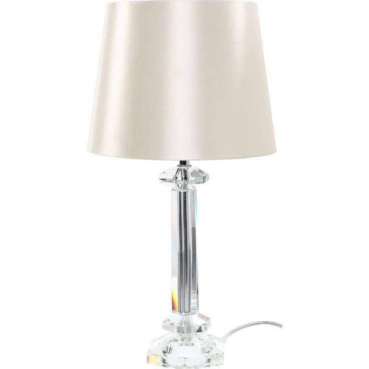 Ivory Table Lamp - TK Maxx
