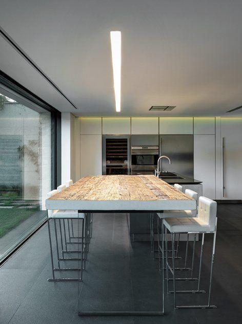 Slot light & concealed lighting casa MT, Traona, 2013 - Rocco Borromini