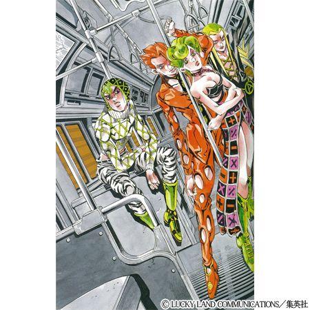 SEIKO×JOJO ジョジョの奇妙な冒険 トリッシュ・ウナ モデル