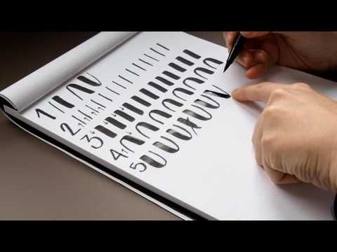 Lettering para principiantes - Sole - YouTube
