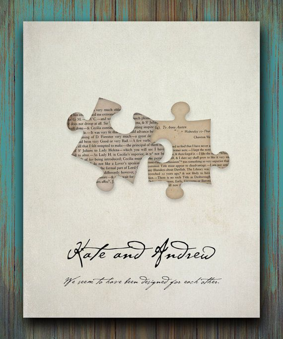 Pride and Prejudice QuoteWe seem to have been by WordsWorkPrints, $20.00