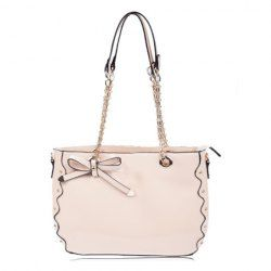 $18.84 Party Womens Shoulder Bags With Candy Color Rivets and Bow Design