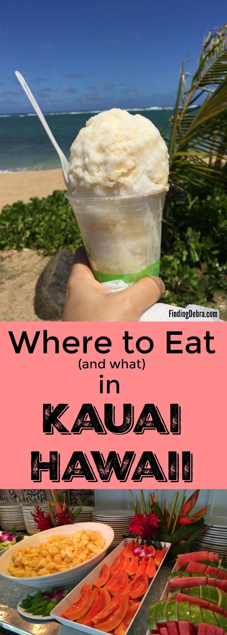 Dónde comer y qué en Kauai Hawaii: los mejores restaurantes y comidas locales. Tu c …