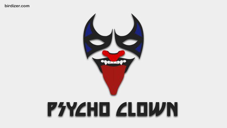 Psycho Clown máscara wallpaper