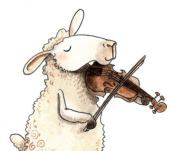Fiddlin' Sheep