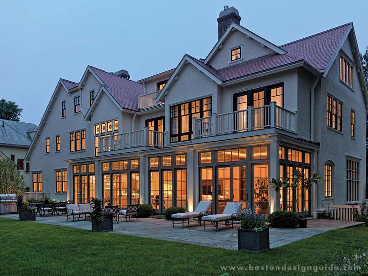 Landscape Architecture By Dan K. Gordon Associates; Renovation Architecture  By Nicholaeff Architecture + Design