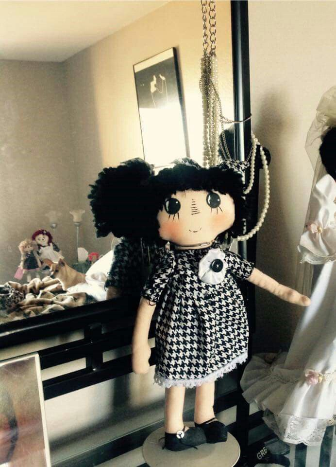 Louise Brooks Raggedy Ann doll