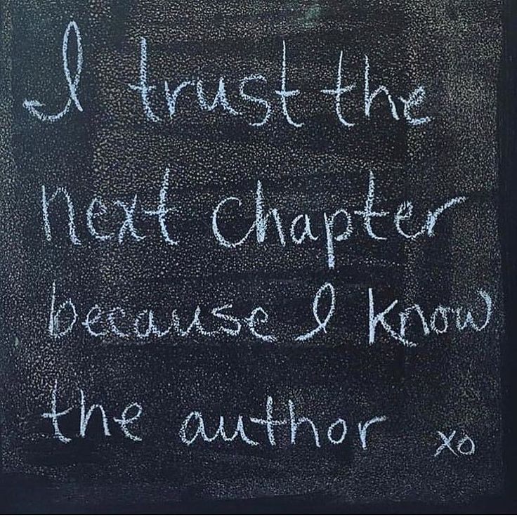 Meeeee! I trust the universe to deliver me ALL that I desire..... I am writing this book  and I trust meeeeee